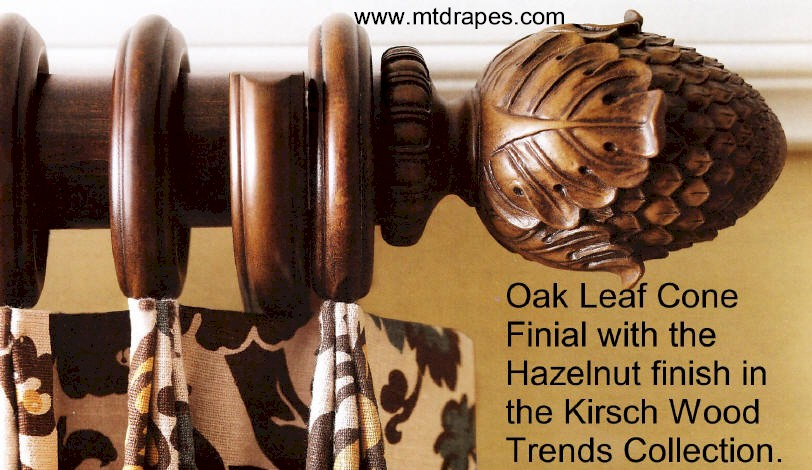 Drapery Hardware Finials Rods Rings And Brackets