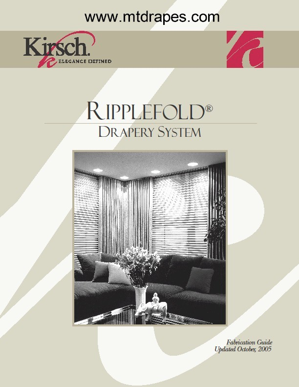 Kirsch Ripplefold Rod Sets New Low Pricing