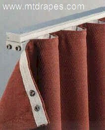 Kirsch Custom Cut Ripplefold Curtain Rods