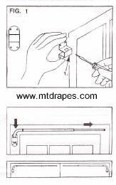 Easy swing arm rod installation instructions.