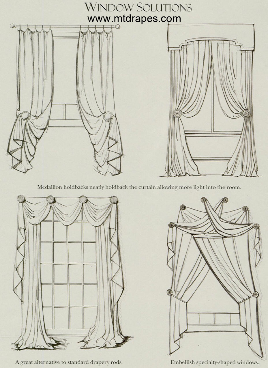 How to Drape Window Scarves: 5 steps - wikiHow