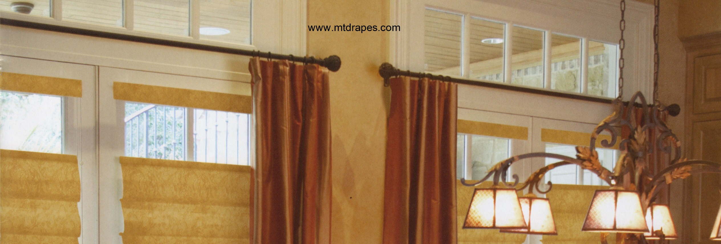Kirsch Wrought Iron Curtain Rods - New Low Price